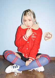 at heart baseball jacket (2 color)