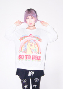 [재입고!] unicorn go to helll mtm