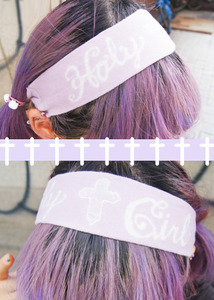 [라벤더재입고] holy girl hairband (2color)