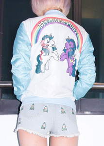 pony x kiss jacket