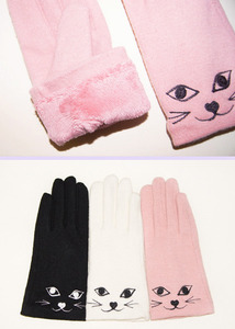 cat gloves (3 color)